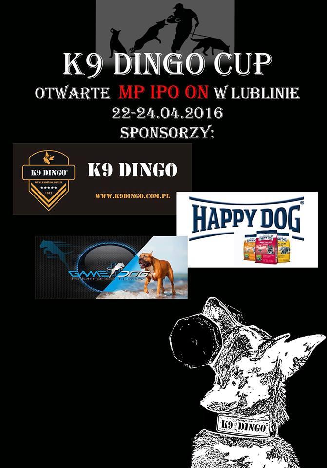 22-24.04.2016 K9 DINGO CUP – już się zaczęło !!!