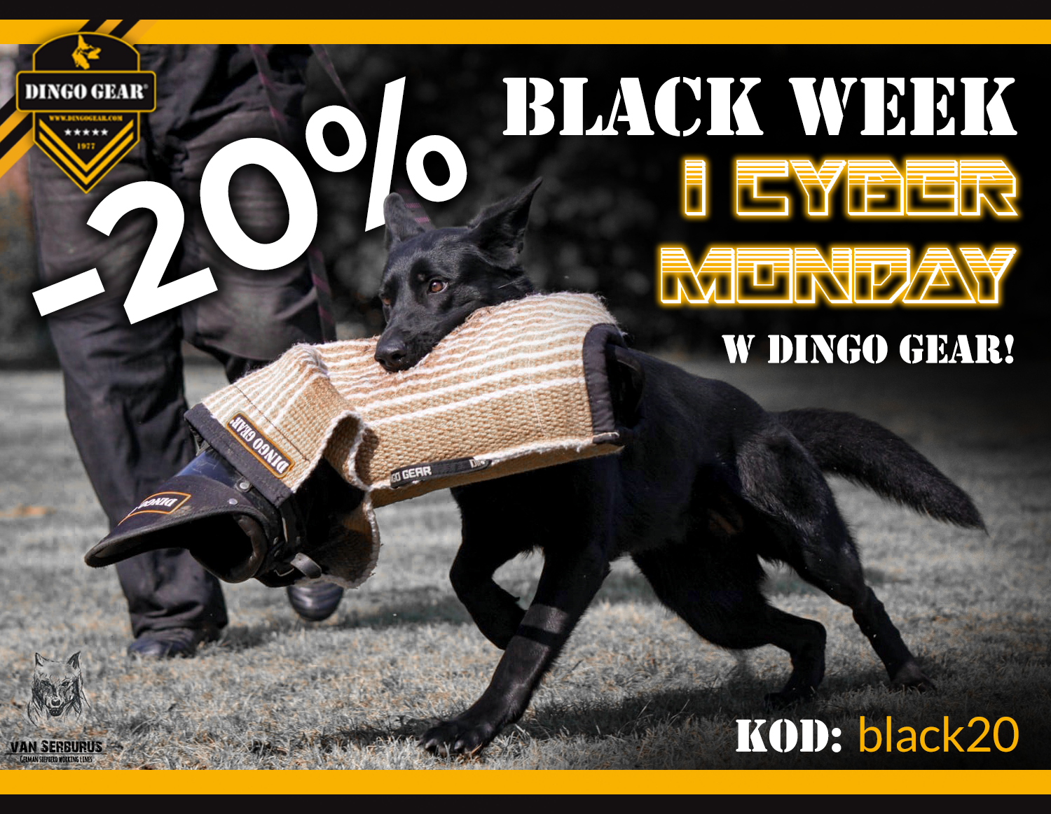 Black Week i Cyber Monday 23-30.11.20