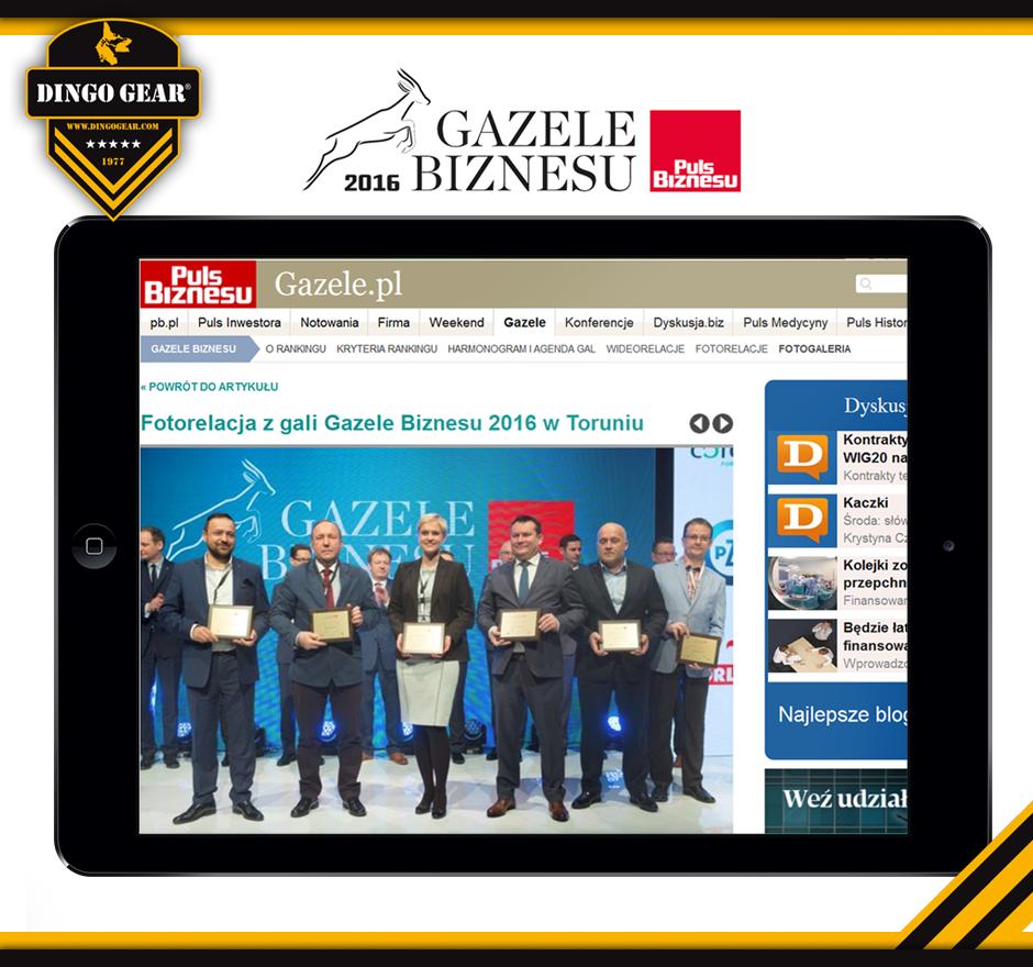 Gazela Biznesu 2016 w naszych rękach!