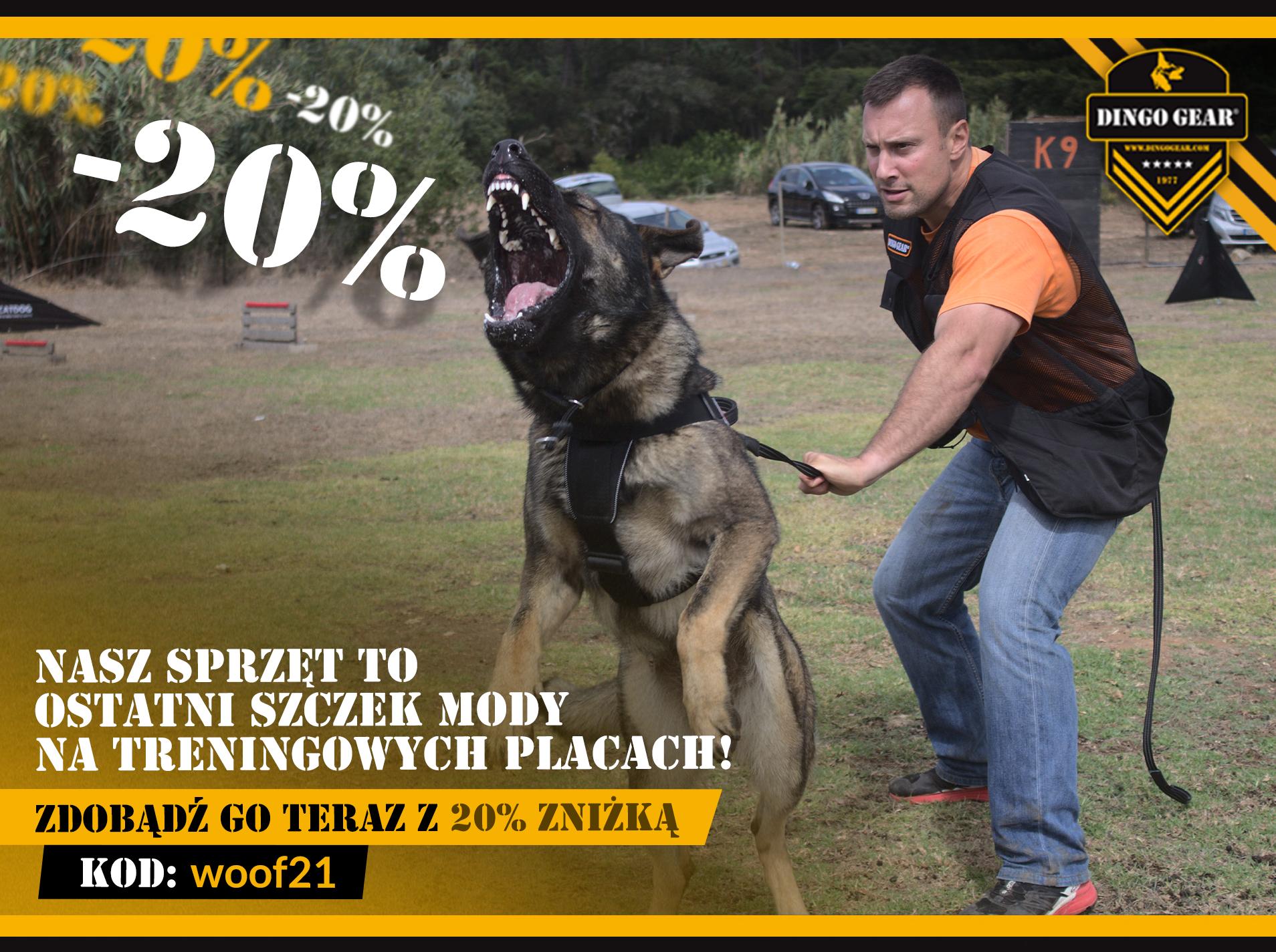 Testuj profesjonalny sprzęt do szkolenia psów