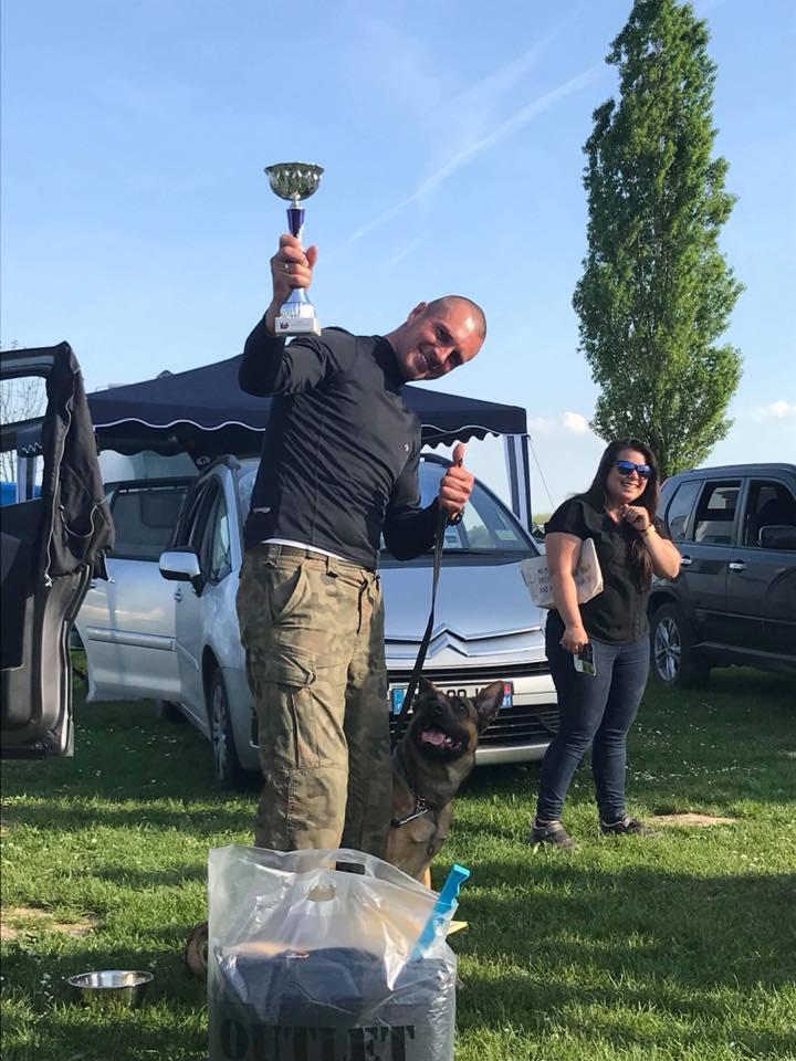 Polskie psy startują w Ring de France