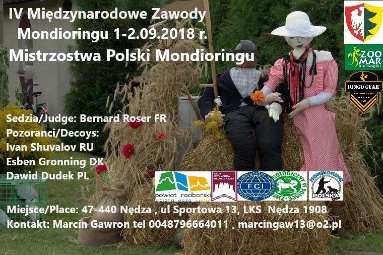 Mistrzostwa Polski Mondioringu 01-02.09.2018
