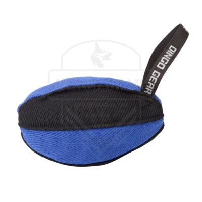 DG S02789 zabawka treningowa rugby 22x13cm czarno-niebieska