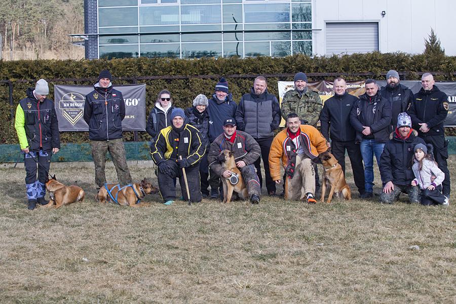 """Warsztaty z """"Gryzienia i pracy pozoranta w sportach ringowych"""" w dniach 24-25.02.2018 w siedzibie Dingo Gear"""