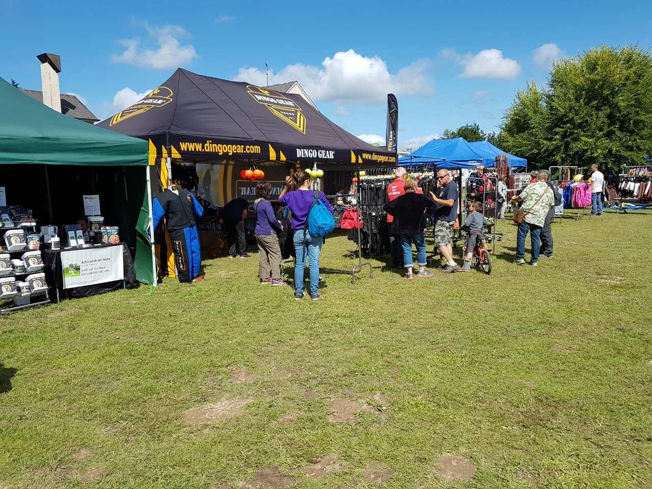 Francja Aubigny s:/ Nere  19-20 sierpień 2017     Dingo Gear i tysiąc psów