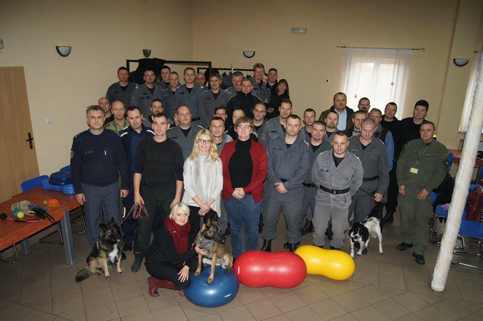 Warsztaty doskonalące dla przewodników psów specjalnych