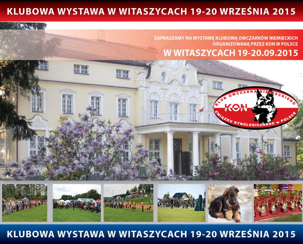 Klubowa Wystawa Owczarków Niemieckich – Witaszyce 19-20.09.2015